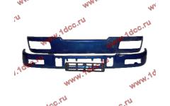 Бампер C синий верхний+нижний (в сборе) фото Дзержинск